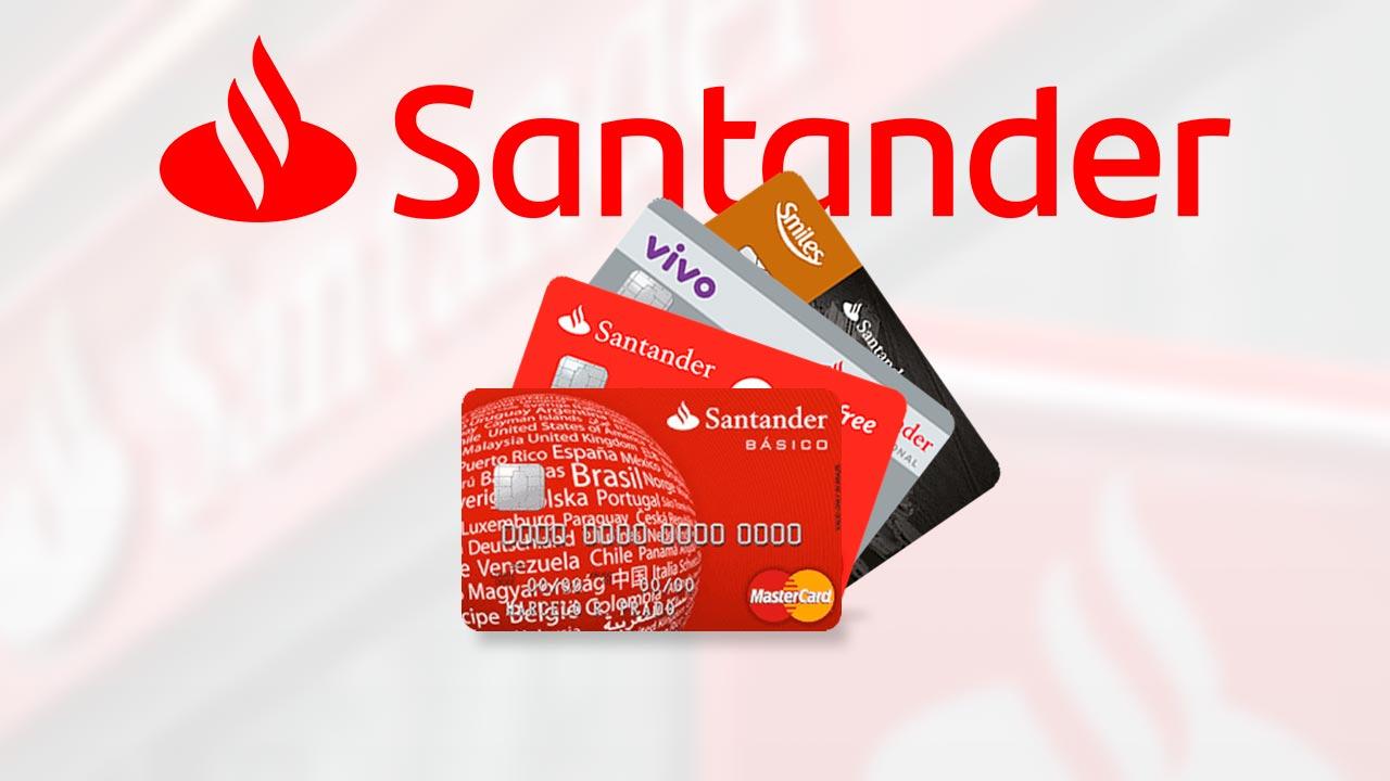 cartão de débito Santander